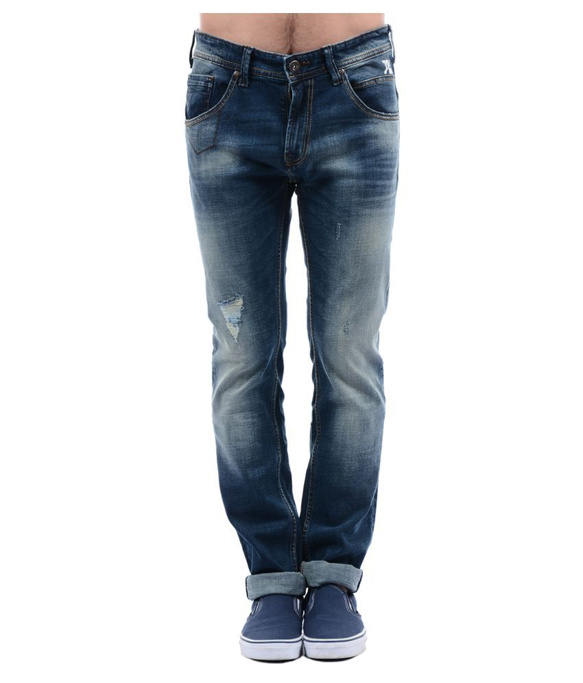 Pepe Jeans Blue Straight Jeans