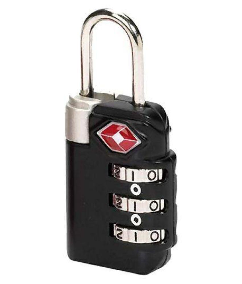 Buy ININDIA TSA Travel Sentry 3-Dial Luggage Lock With Red ...