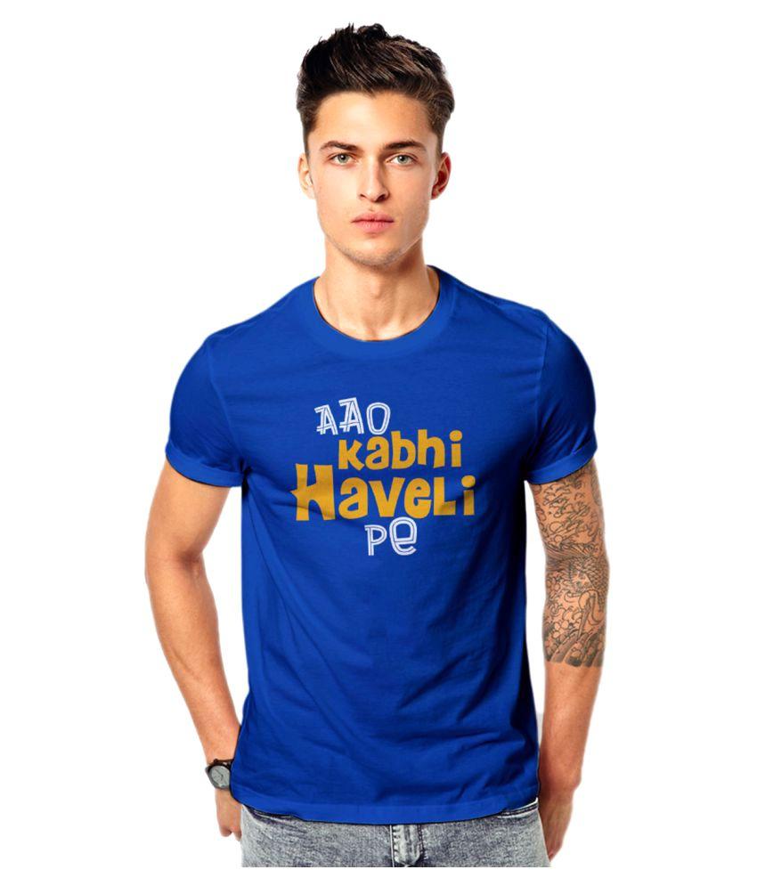 Royal Nesher Blue Round T-Shirt