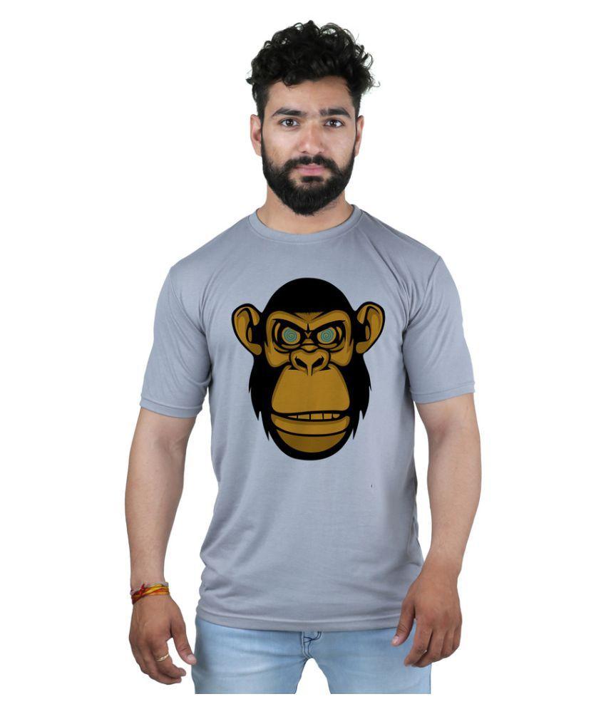 Snoby Grey Round T-Shirt