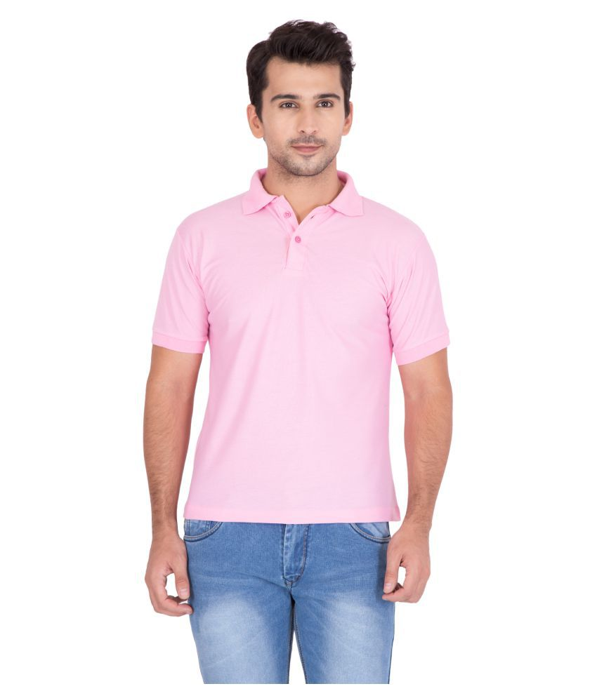 Hipe Pink High Neck T-Shirt