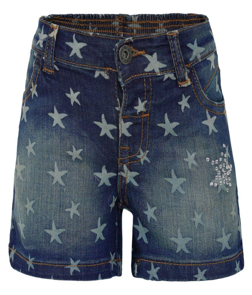 FS MiniKlub Girl's Denim Shorts-Dark Wash