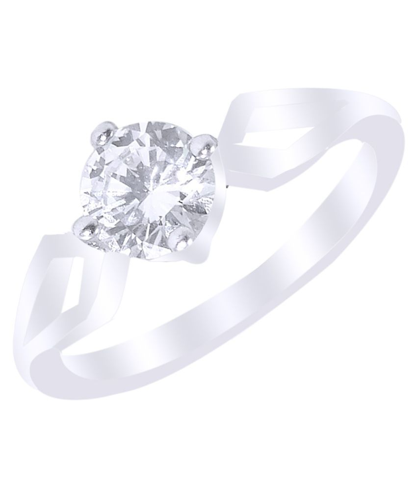 ELOTIC 92.5 Silver Ring