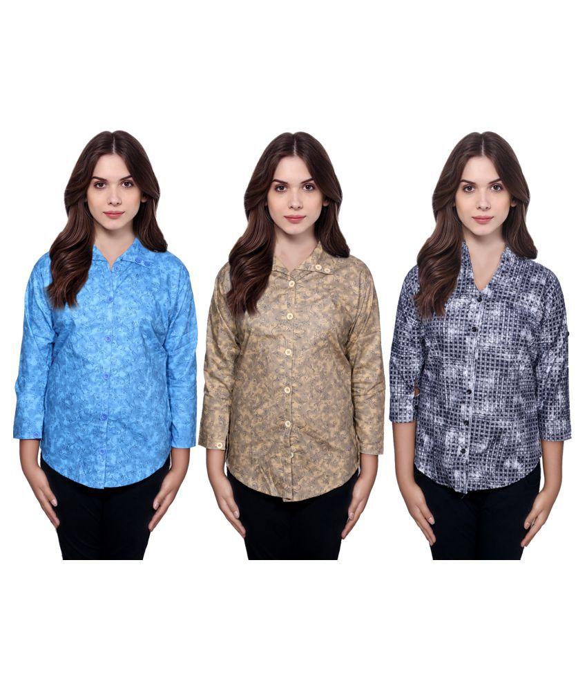 IndiWeaves Cotton Shirt