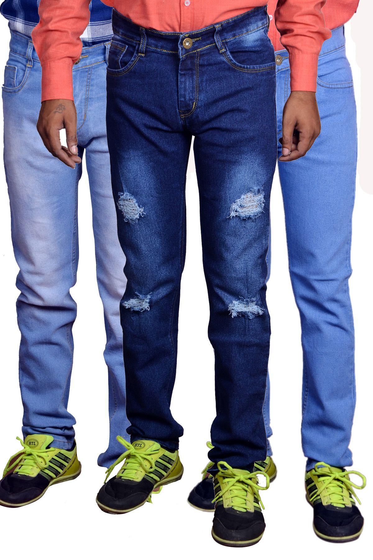 Funtree Multicolored Slim Jeans