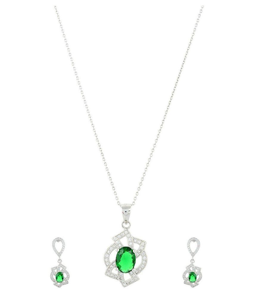 ISOVI 92.5 BIS Hallmarked Silver Necklace Set