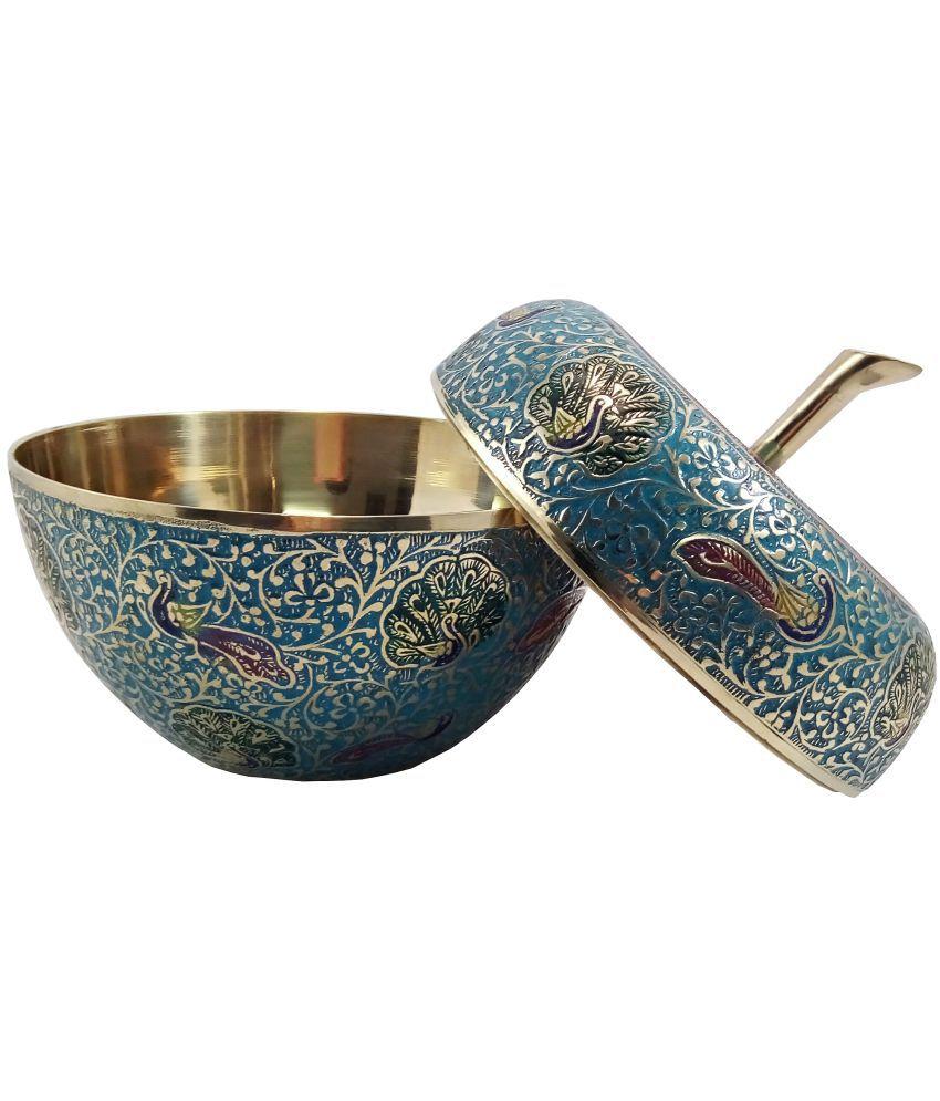 MOZO HUB MOZOHD0105 Brass Tea/Coffee/Sugar Container Set of 1