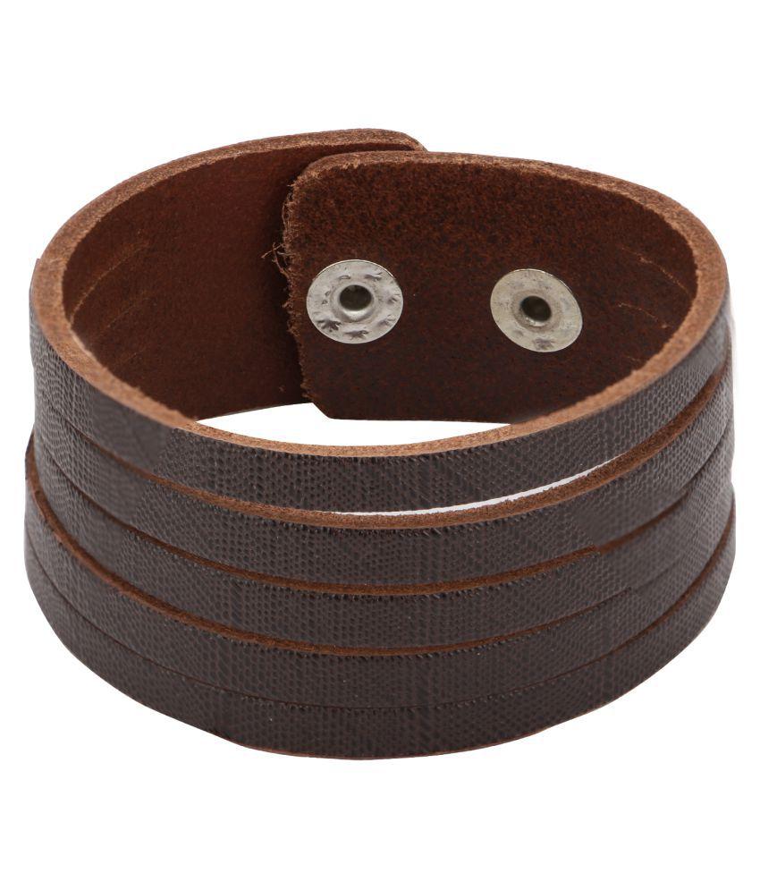 Bulls Hide Casual Leather Bracelet