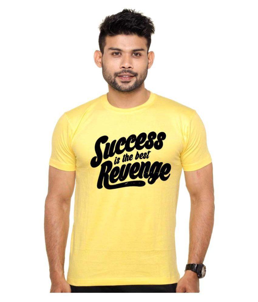 ROOR Yellow Round T-Shirt