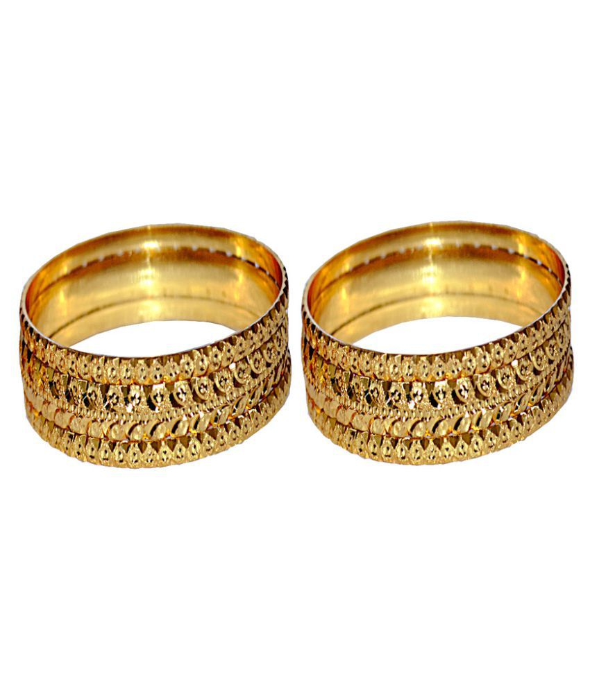 fashions buy choodi golden ladies bangles brrs product