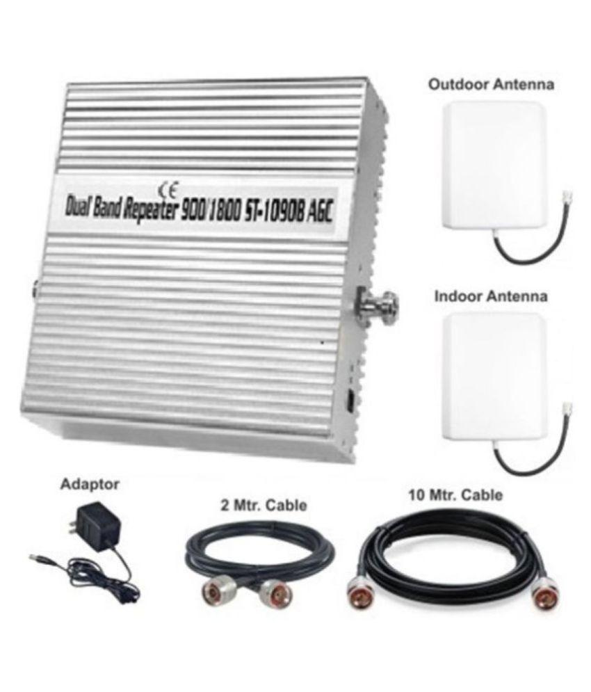 Lintratek ST-1090B 2G + 4G Mobile Signal Booster 3200 4G White