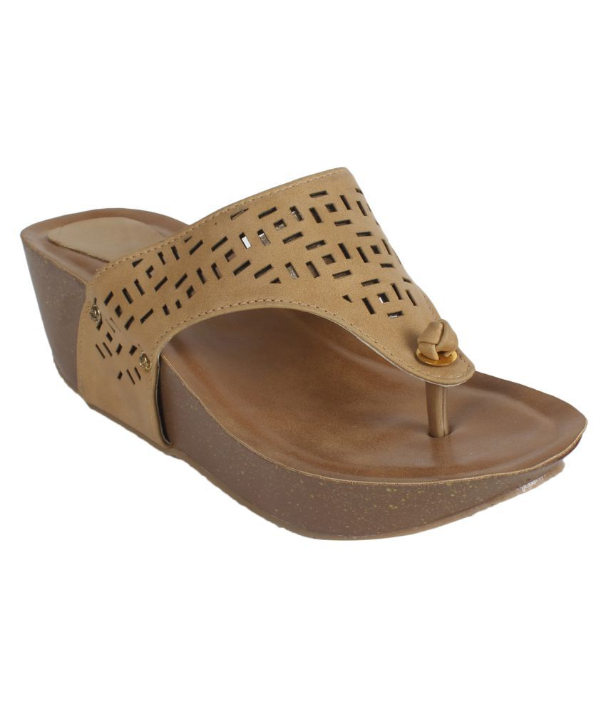 NX Footwear Brown Block Heels