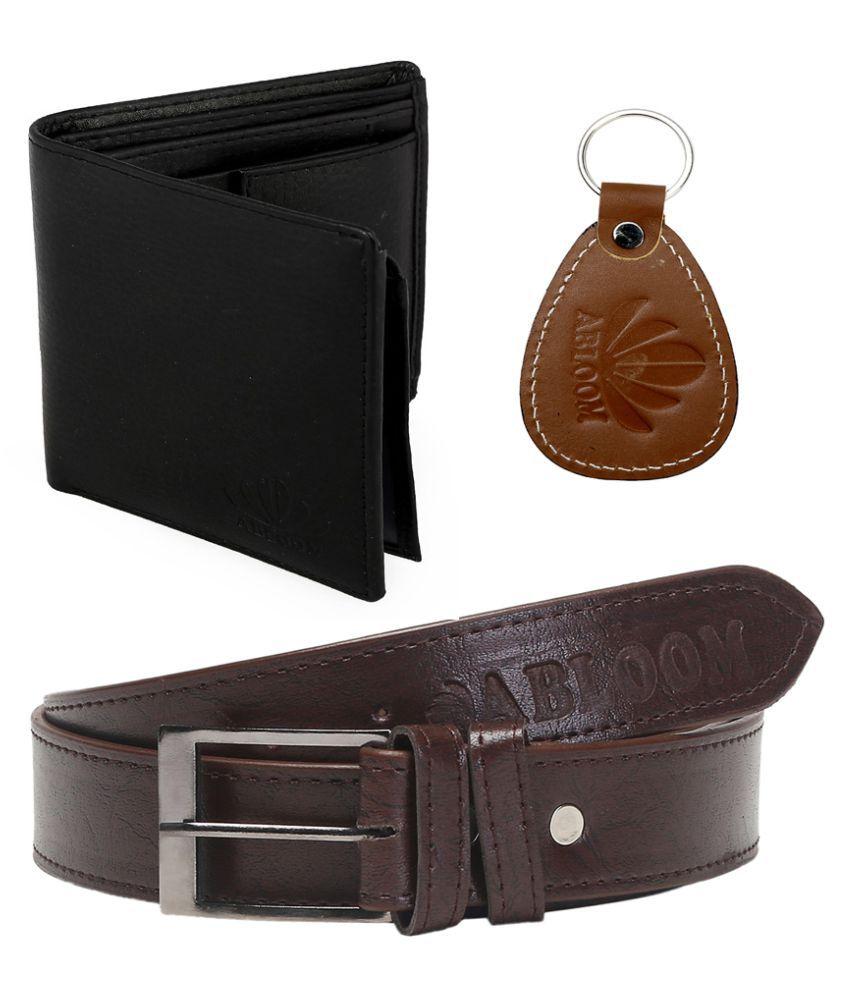 Abloom Multi PU Casual Belts