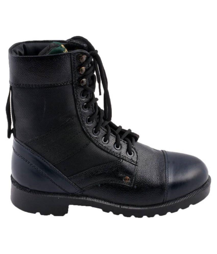 Bluesky Black Hiking & Trekking Boot