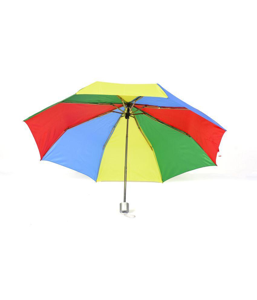 Anchor Umbrella 3 Fold Umbrella Synthetic Umbrella
