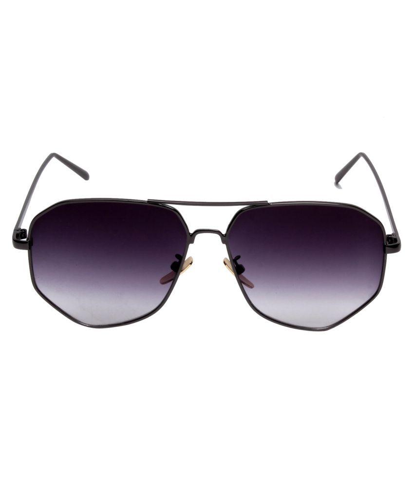 Di tutti Black Oversized Sunglasses ( 2713BLACK )