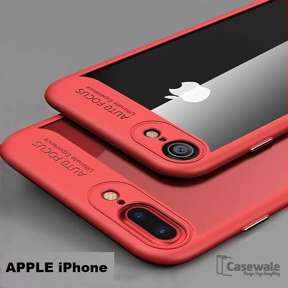 Apple iPhone 6S Plain Cases BeingStylish - Red