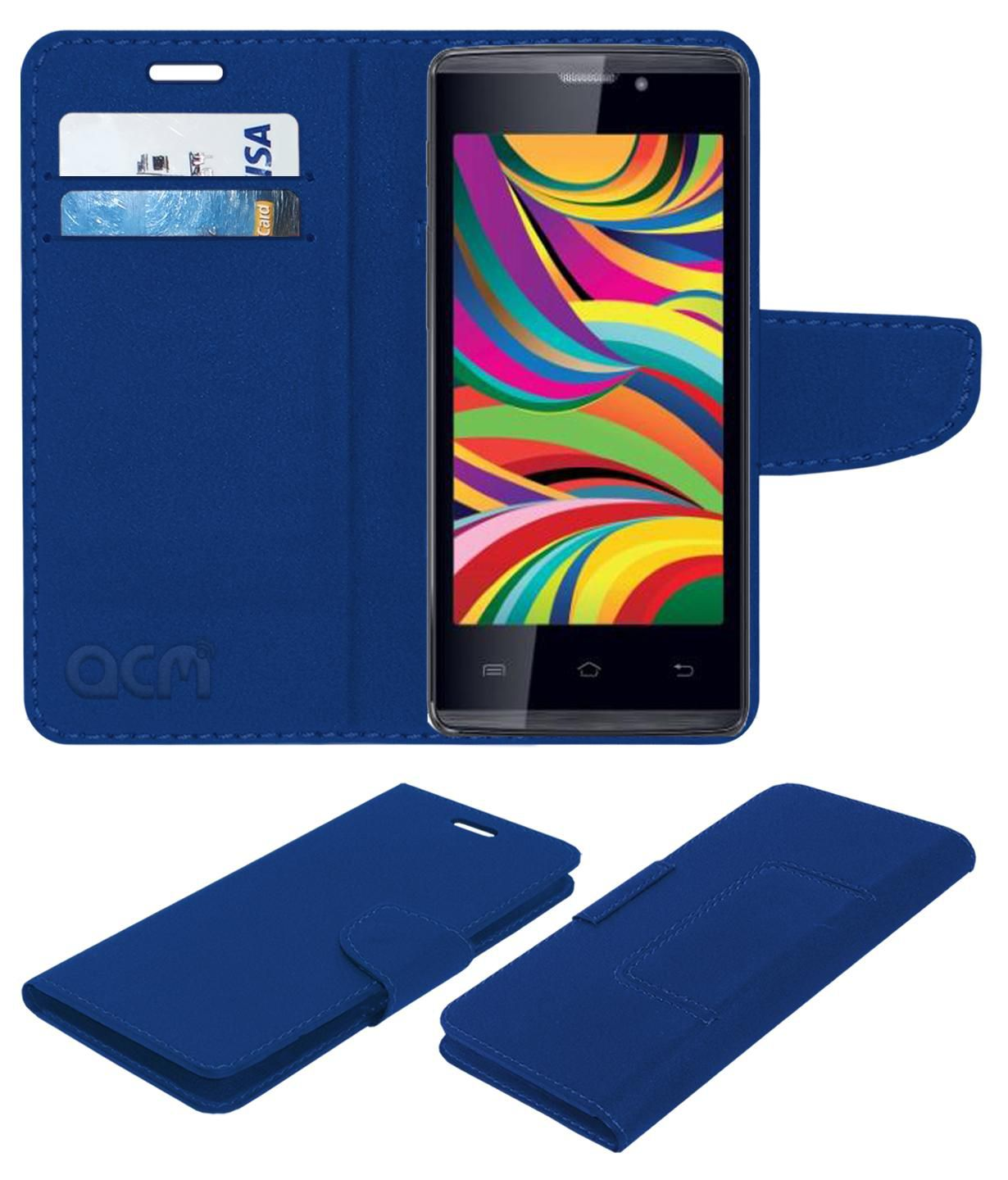 Iball Andi 4 Arc Flip Cover by ACM - Blue