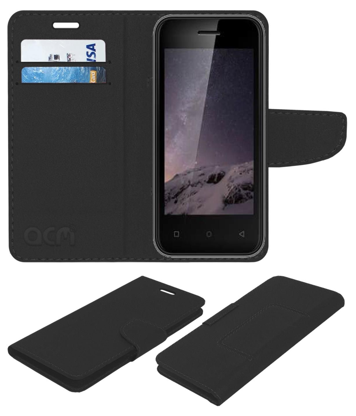 Zen Admire Curve Flip Cover by ACM - Black