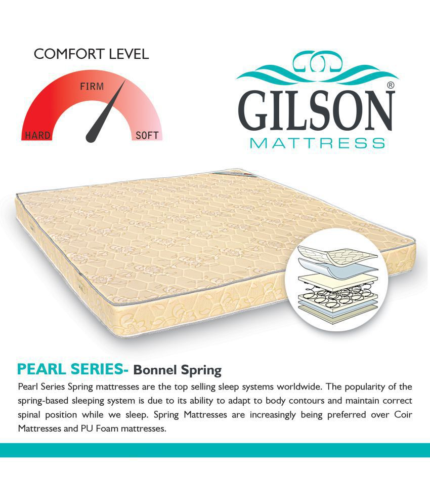 gilson pearl series bonnell 15 cm 6 in spring mattress buy gilson