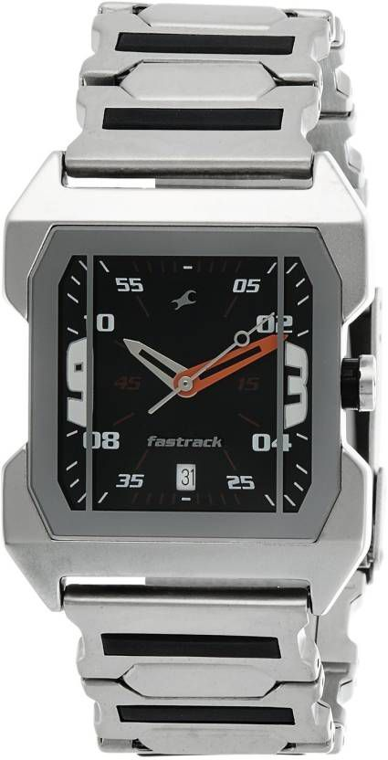 a6e70714e Fastrack Analog Black Dial Men s Watch-1474SM02 - Buy Fastrack Analog Black  Dial Men s Watch-1474SM02 Online at Best Prices in India on Snapdeal