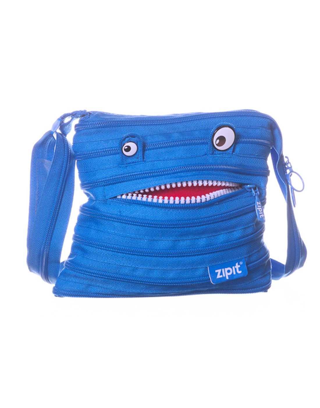 UNTOLD ZIPIT Monstar Teeth Mini Shoulder Bag for Kids, Women ,Girls - Blue - Buy UNTOLD ZIPIT Monstar Teeth Mini Shoulder Bag for Kids, Women ,Girls - Blue ...