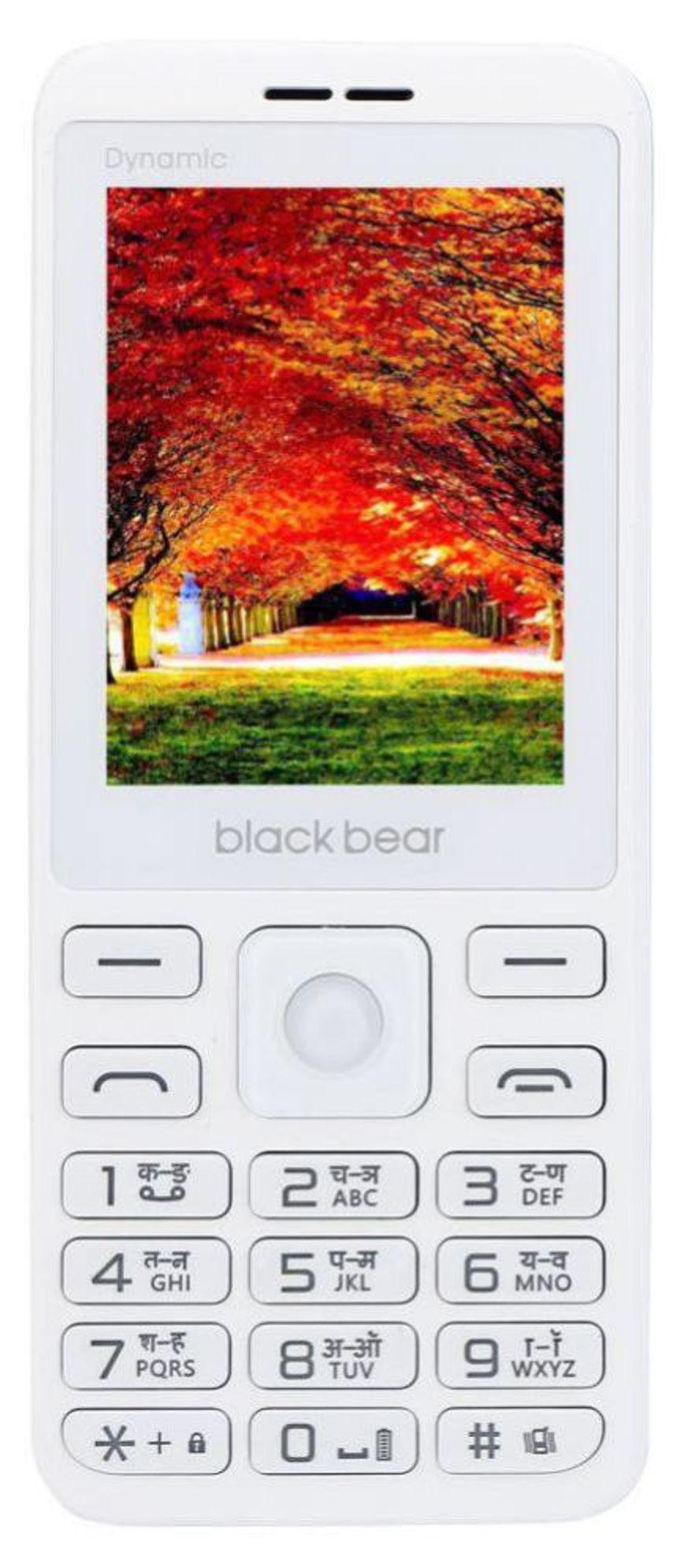 BLACKBEAR White Dynamic Dual Sim 32 MB