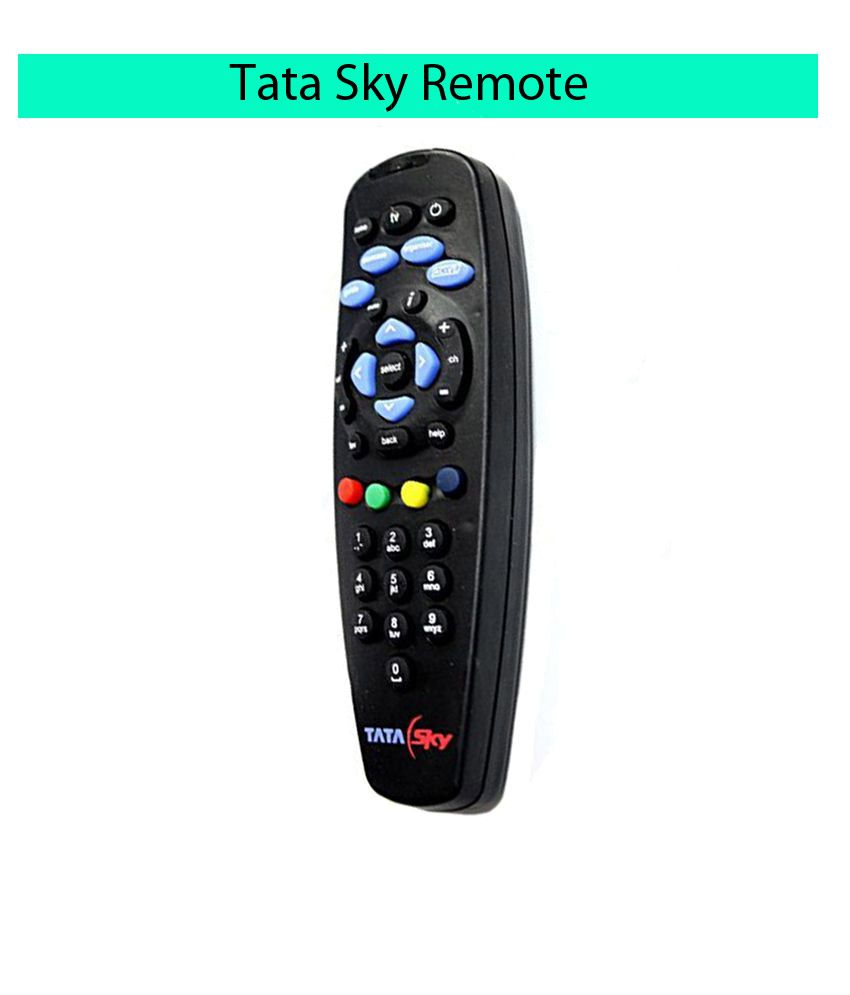 TATA Sky Sp-1261 DTH Remote Compatible with Tata sky d2h