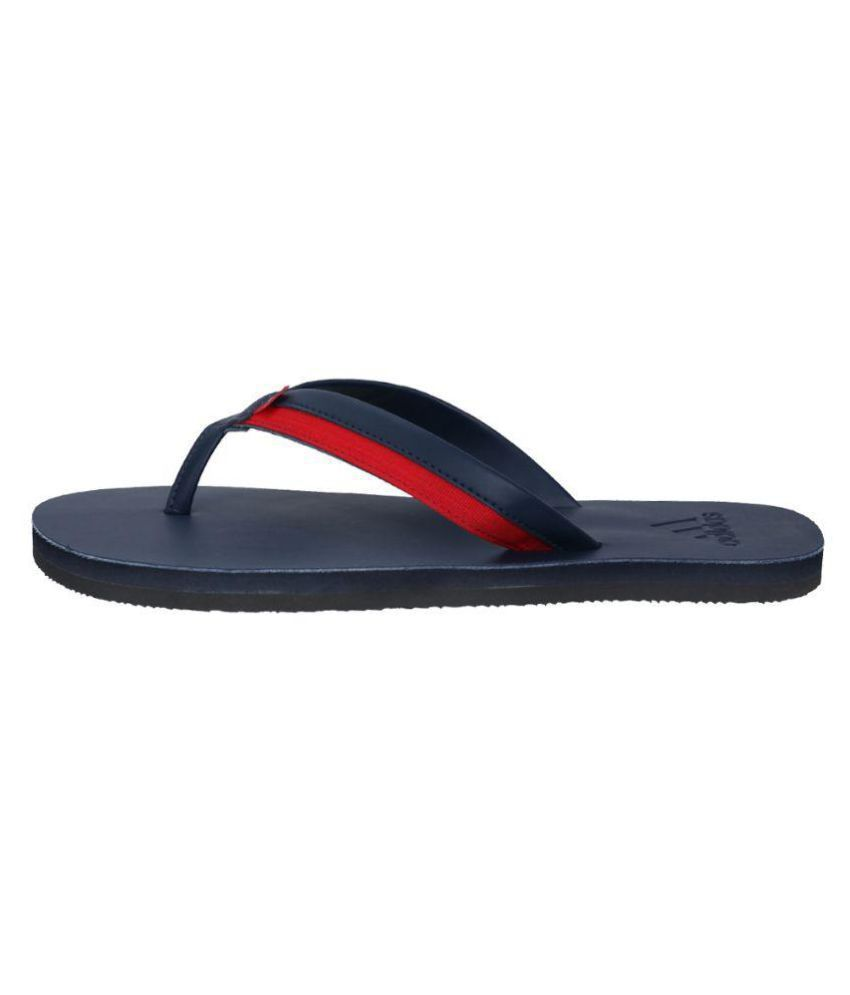 e7912ee5af2 Adidas Brizo 3.0 Blue Leather Flip Flops Price in India- Buy Adidas ...