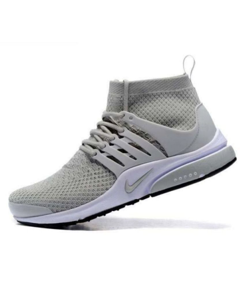 Nike PRESTO AIRMAX Gray Running Shoes Buy Nike PRESTO AIRMAX Gray