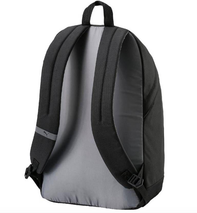 af9cf40ad3 ... Puma Branded Backpack Laptop Bags College Bags School Bags Black  Pioneer II
