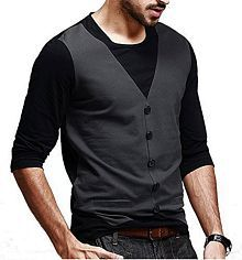 Try This Black Round T-Shirt Pack of 1