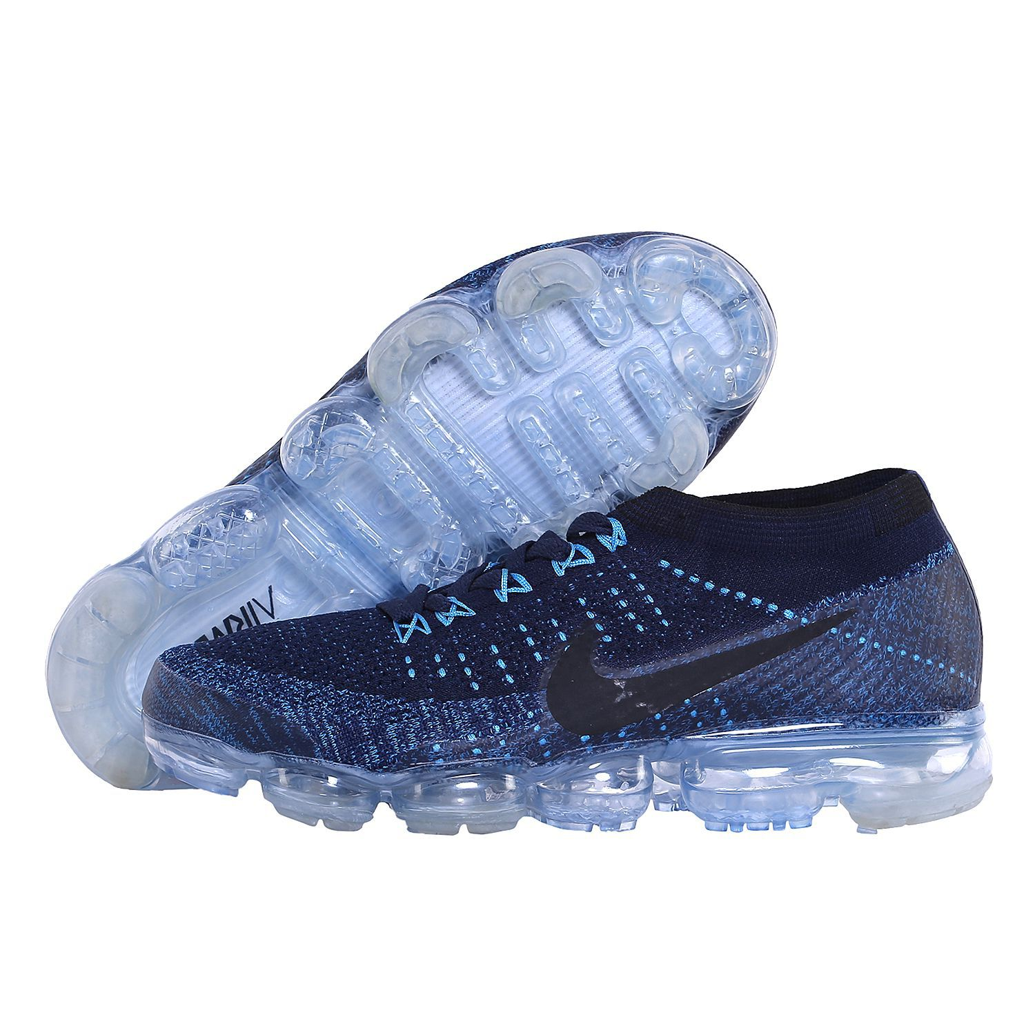 d10063d7a39dd Nike AIR VAPORMAX FLYKNIT Blue Running Shoes - Buy Nike AIR VAPORMAX  FLYKNIT Blue Running Shoes Online at Best Prices in India on Snapdeal