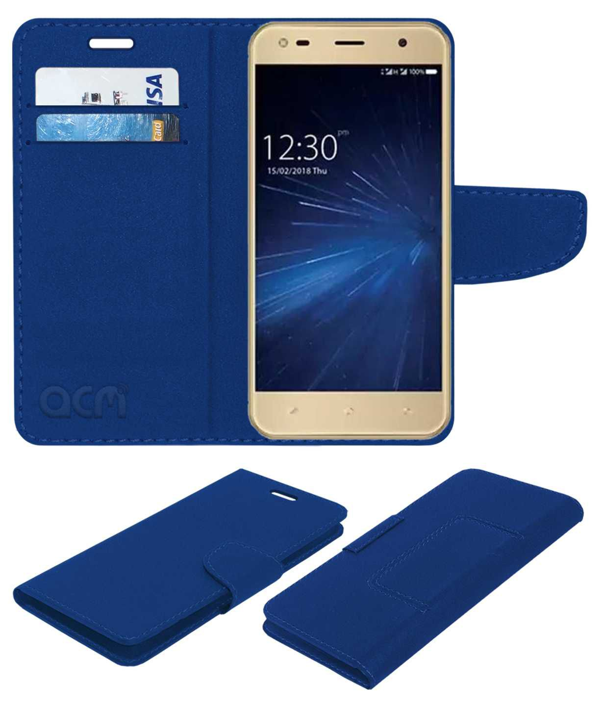 uk availability 32bfd 19376 COMIO C2 LITE Flip Cover by ACM - Blue