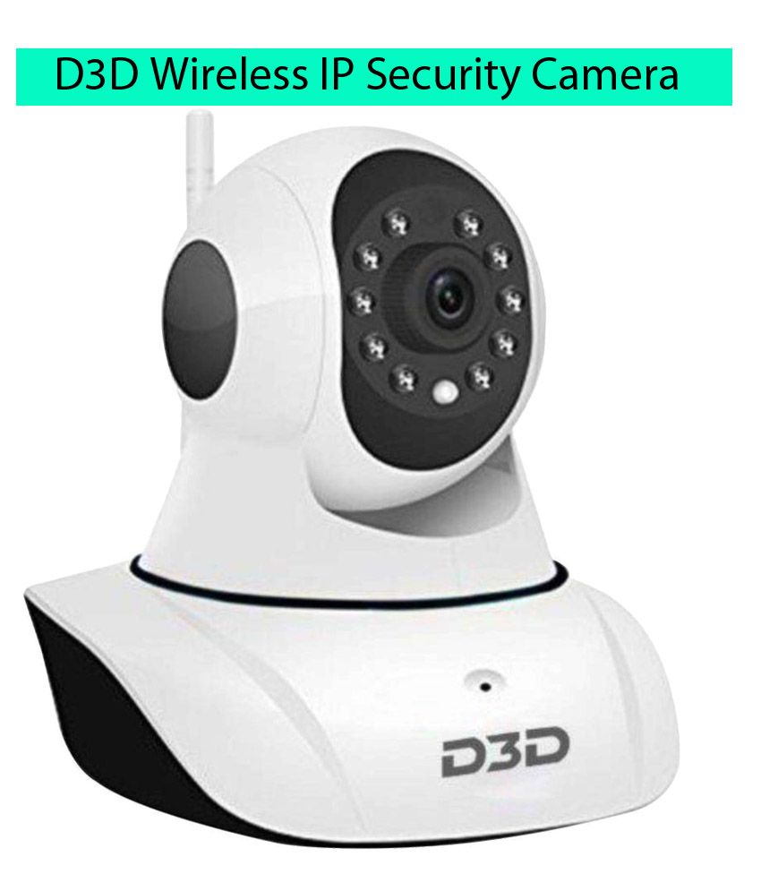 D3D Security Wireless Ip Camera Wi-Fi PTZ 1280 x 720 Camera Price in India - Buy D3D Security ...
