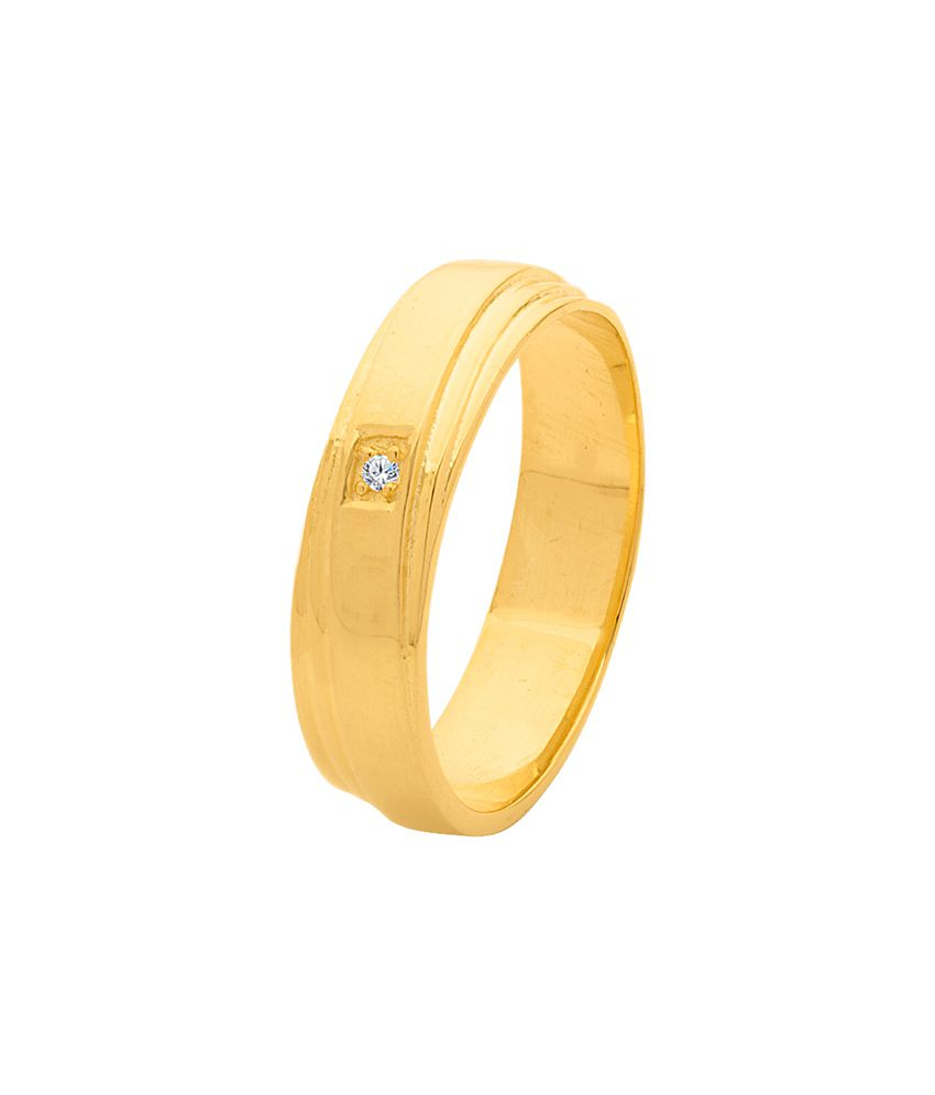 Dare By Voylla Stylish Gold Plated Ring from Decent