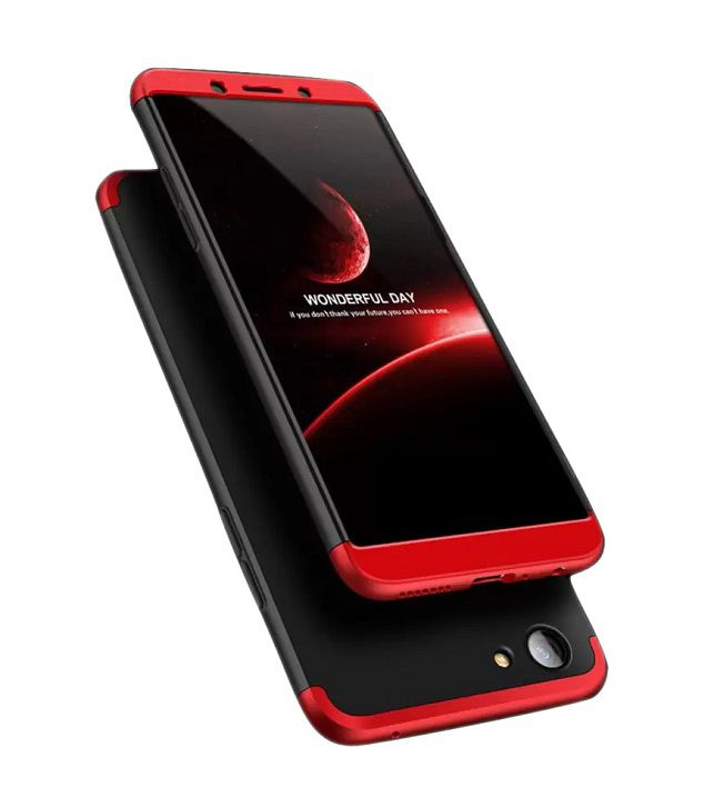 Oppo A83 Shock Proof Case JMA - Red Original Gkk 360° Protection Slim Case