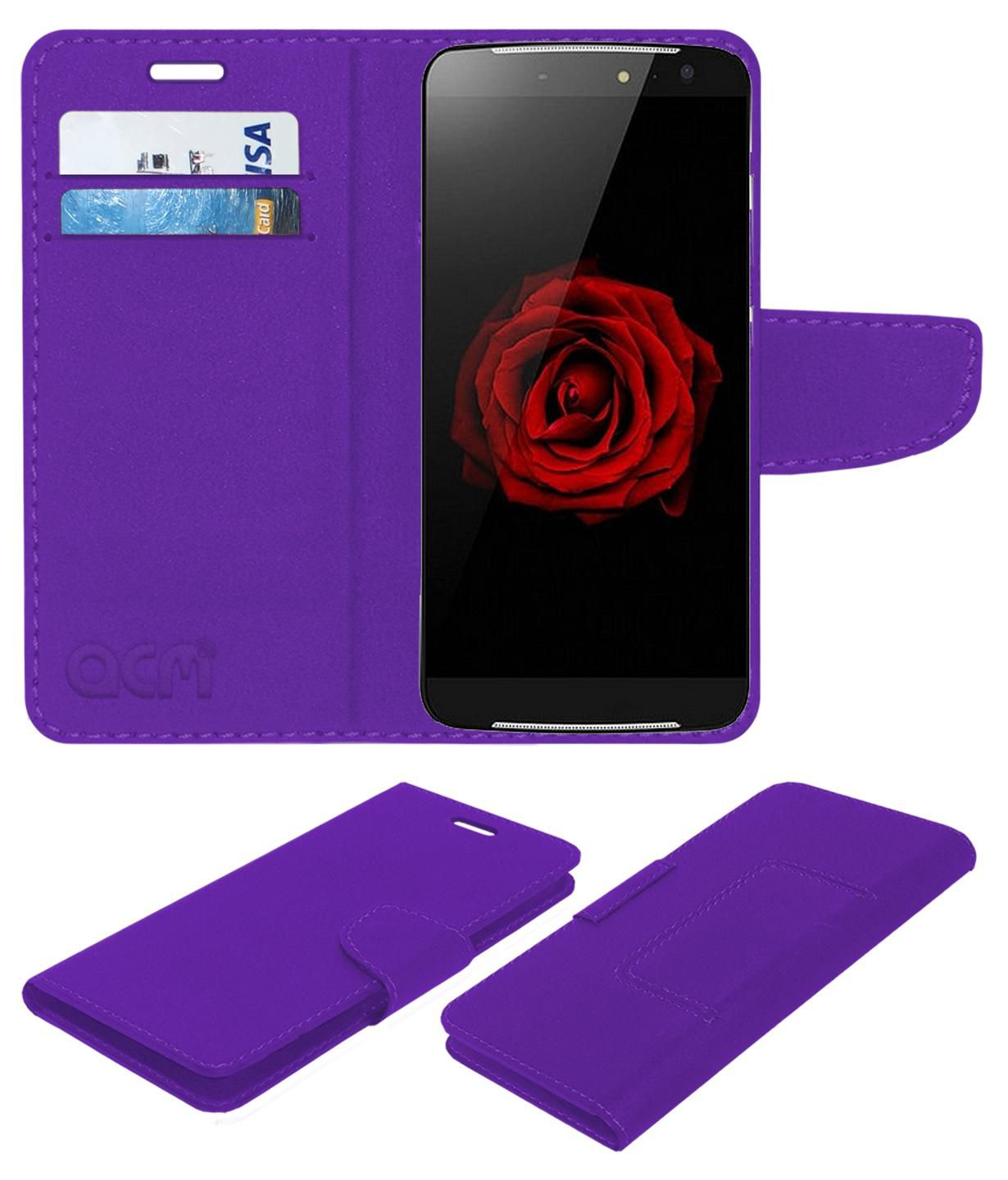 ZOPO SPEED 8 Flip Cover by ACM - Purple