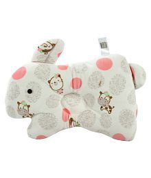 Mee Mee Off-White Cotton Feeding pillow Baby Pillow