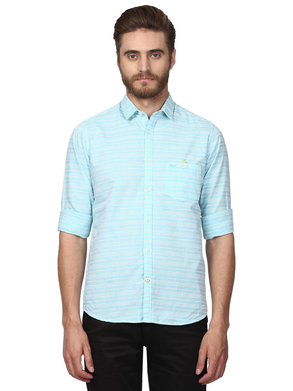 Colorplus Green Regular Fit Shirt