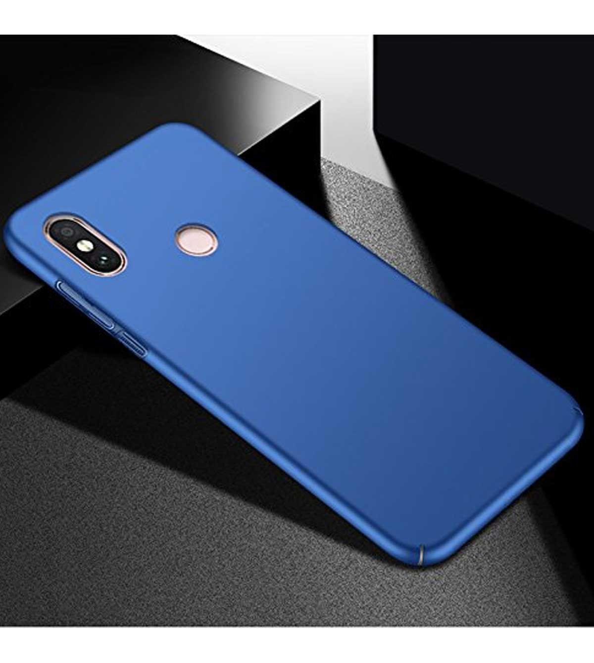 4e1bfce0c Xiaomi Redmi Note 5 Pro Plain Cases TBZ - Blue - Plain Back Covers ...
