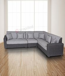 L Shape Sofa: Buy L Shaped Sofas Online at Best Prices in India on ...