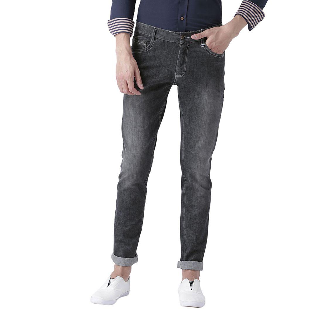 JUMPUSA Black Regular Fit Jeans