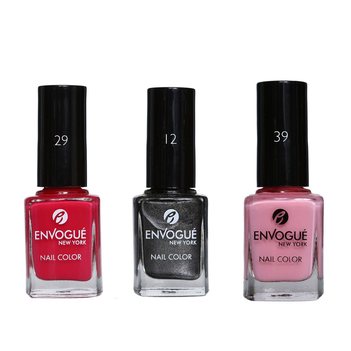 envogue Nail Polish Multicolour 9.5 ml