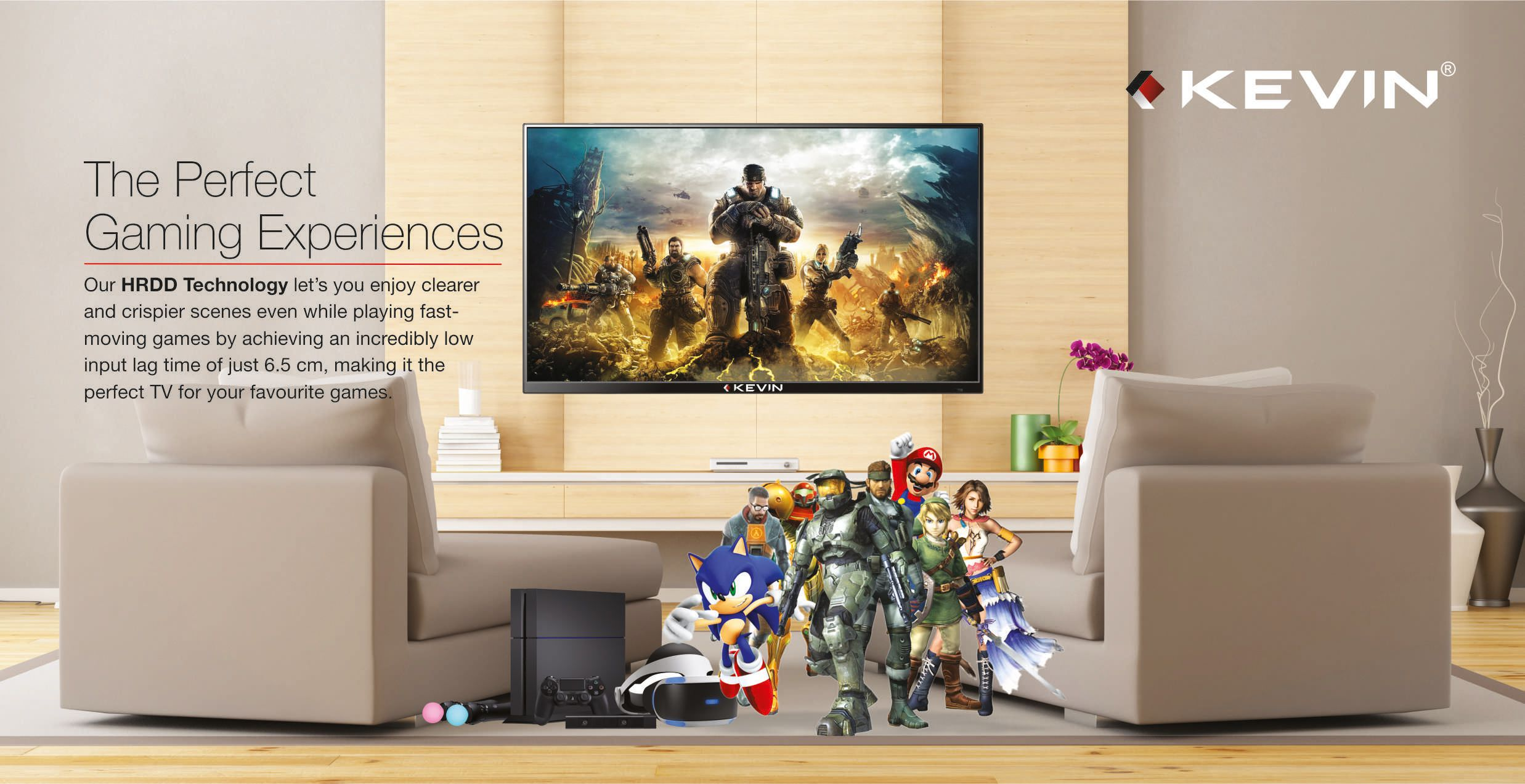 KEVIN KN32S 80 cm 32 HD Ready HDR LED Television