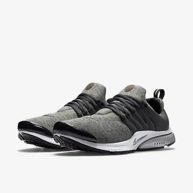 check out fff55 b83f2 Nike Presto Flyknit Grey Running Shoes