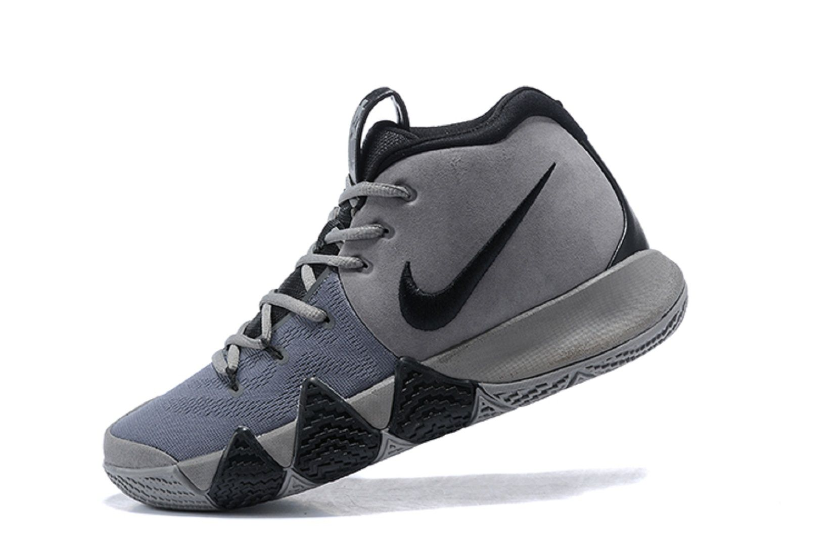 Nike Kyrie 4 Wolf Gray/black Gray Basketball Shoes shop offer sale online pay with paypal sale online outlet eastbay for nice cheap price IzbHZR