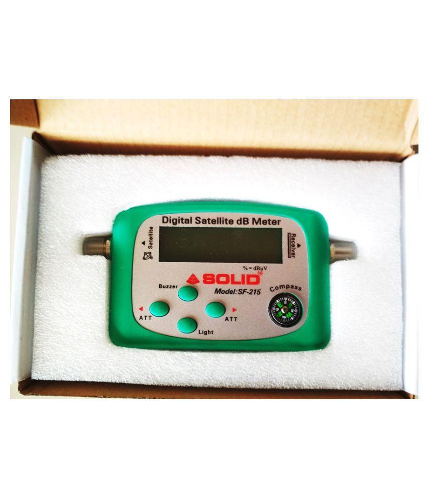 Solid Solid SF-215 Digital Satellite dB Meter Multimedia Player