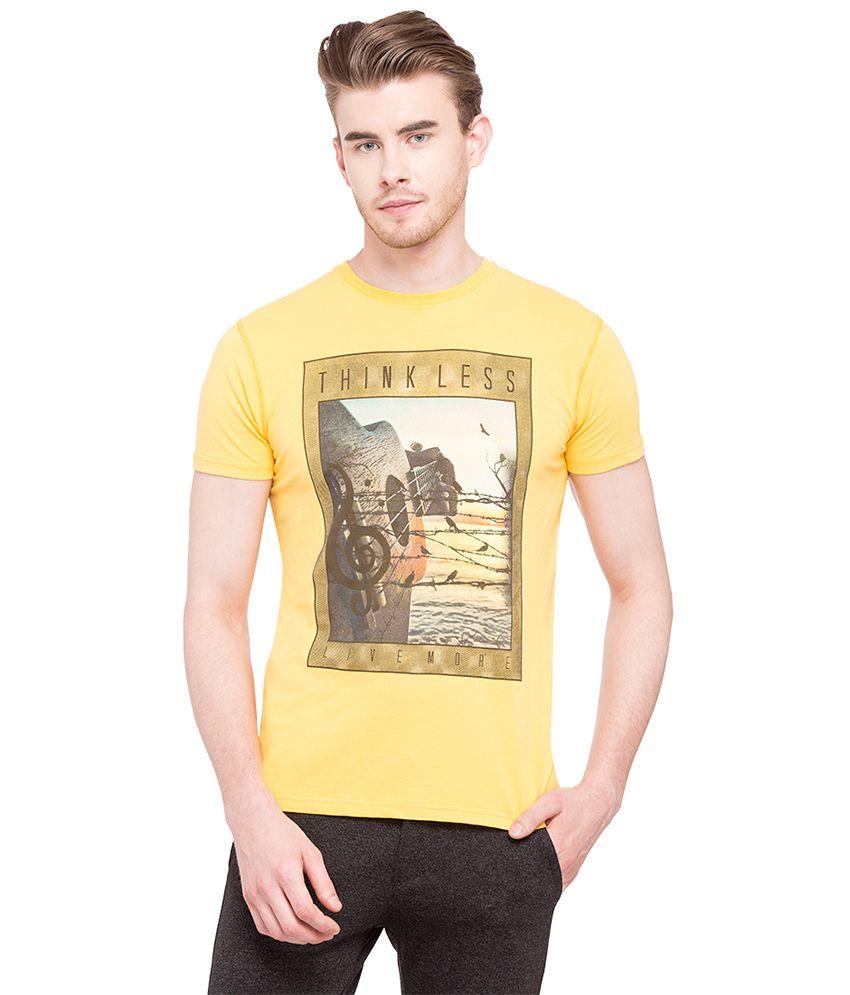 Status Quo Gold Round T-Shirt