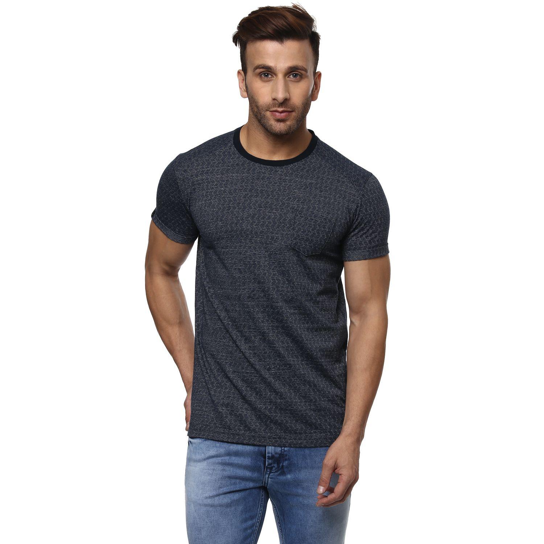 Mufti Navy Round T-Shirt